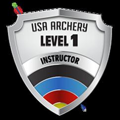USA Archery Level 1 Cert Logo.png