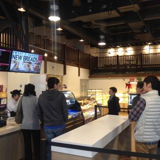 Boba time at 85C (cafe name)