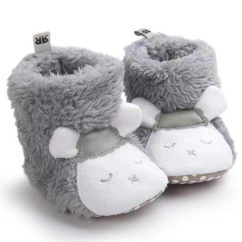 Grey Sheep Booties