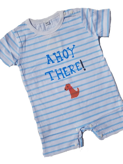 Ahoy There Romper
