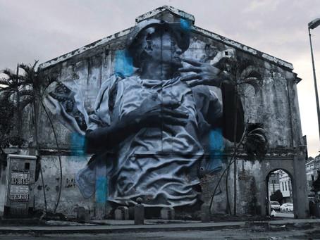Metaphorical sit-down with JDL Street Art
