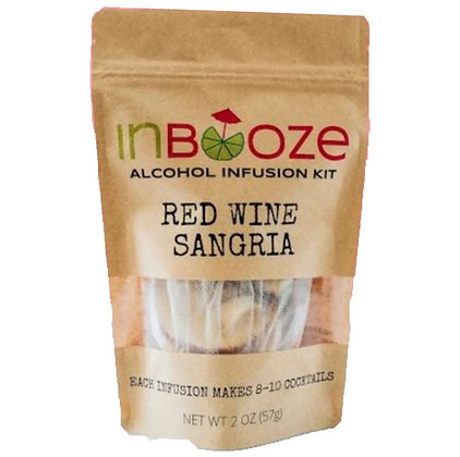 InBooze Red Wine Sangria Infusion Kit