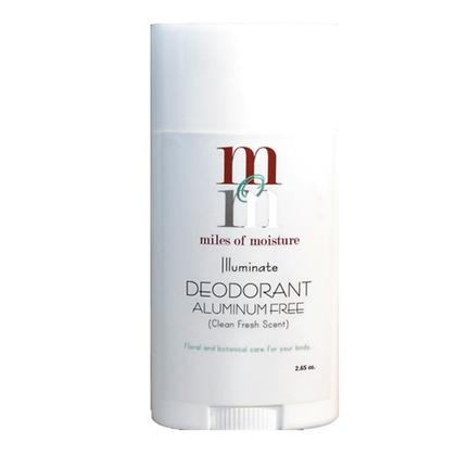 Miles of Moisture Illuminate Aluminum Free Deodorant - Clean + Fresh
