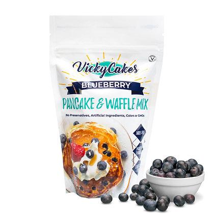 Vicky Cakes Blueberry Pancake & Waffle Mix