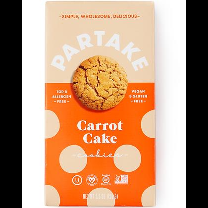 Partake Crunchy Carrot Cake Cookies