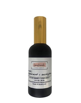 LeneNicole Aromatherapy Room+Linen Spray Peppermint+Eucalyptus