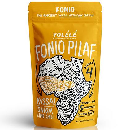 Yolele Yassa Fonio Pilaf: Onion, Lime, & Chili