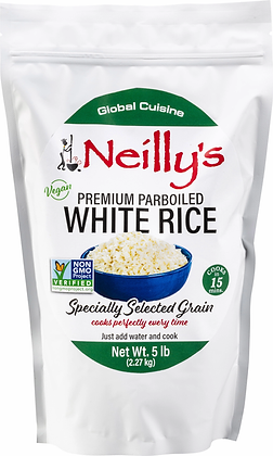 Neilly's Parboiled White Rice (2 lb bag)