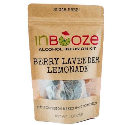 InBooze Berry Lavender Lemonade Infusion Kit