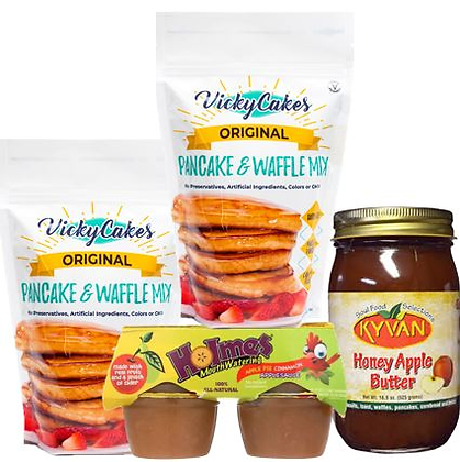 Breakfast - Apple Cinnamon Pancakes Bundle