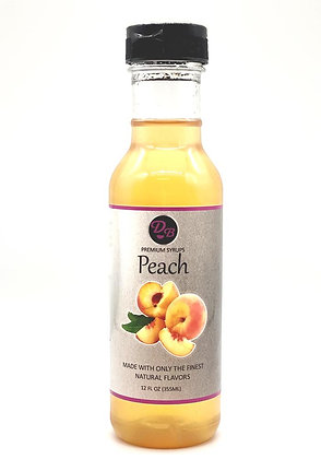 Delicious Beverage Premium Peach Syrup