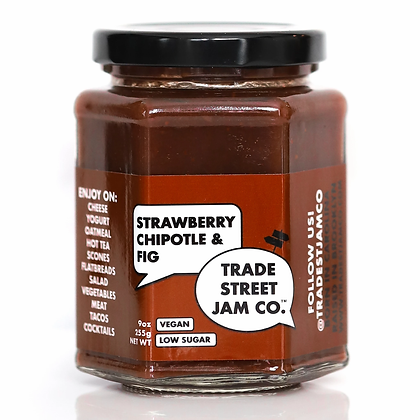 Trade Street Jam Co. Strawberry Chipotle & Fig