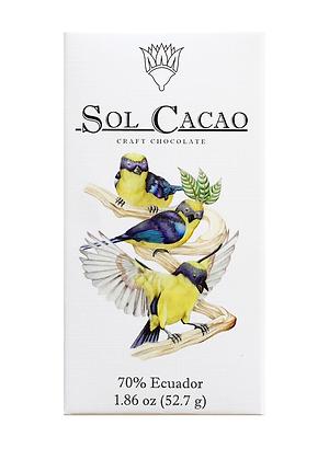 Sol Cacao Dark Chocolate (Ecuador)