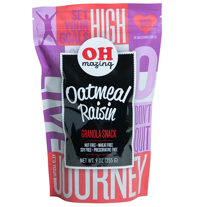 Oh-Mazing Oatmeal Raisin Granola (9oz)