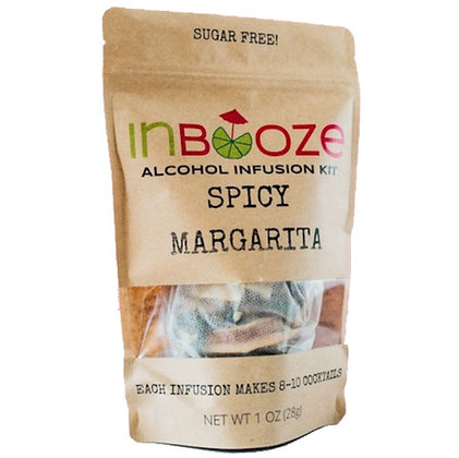 InBooze Spicy Margarita Infusion Kit