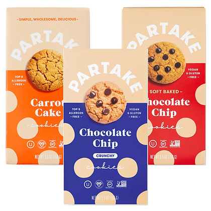 Partake Cookie Sampler Bundle