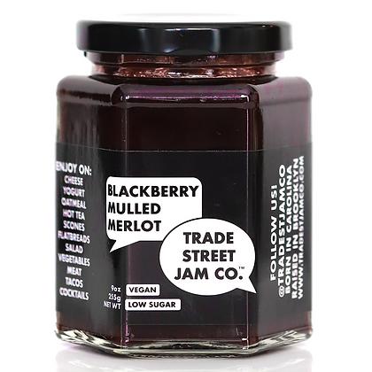 Trade Street Jam Co. Blackberry Mulled Merlot Jam