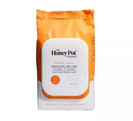 The Honey Pot Original Feminine Wipes (30ct)