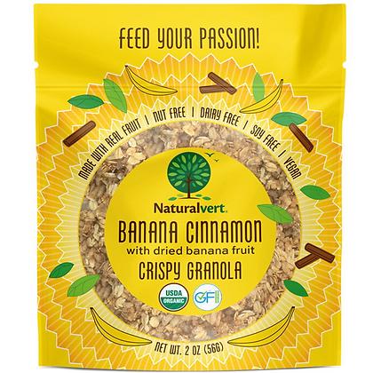 Naturalvert Banana Cinnamon Granola