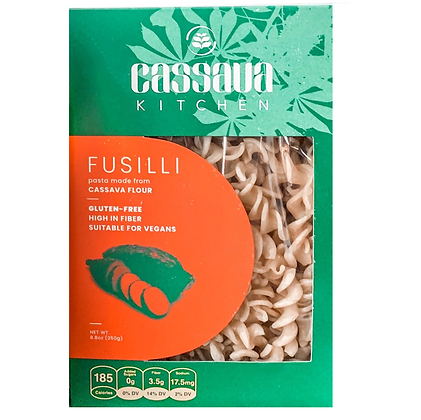 Cassava Kitchen Fusilli Pasta