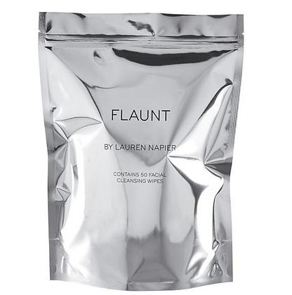 Lauren Napier FLAUNT Facial Cleansing Wipes 50ct