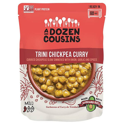 A Dozen Cousins Trini Chickpea Curry