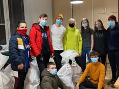 Zbierka KILO - mládežníci nahromadili 700 kíl