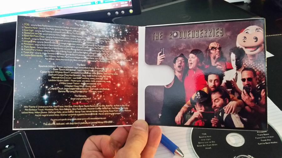 The Roddenberries Album 2015