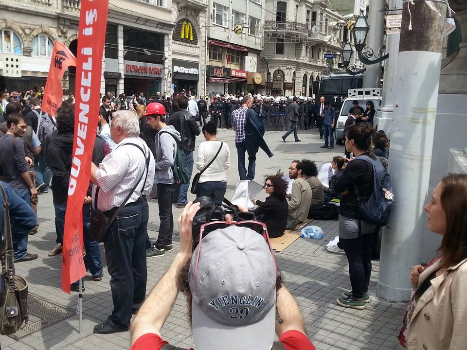 Filming in Istanbul, Turkey Protests