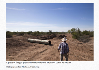 Yaqui Tribe Removes Section of Pipeline in Northwest Mexico