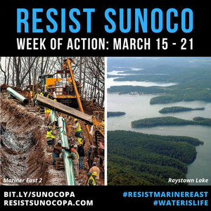 Press Release: Across Pennsylvania, Resistance to Fossil Fuel Pipelines Grows: Pressure is on Gov. &
