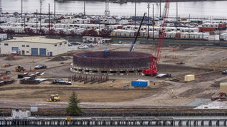 Jury Acquits Grandmas Who Chained Themselves To Equipment At Tacoma's LNG Construction Site