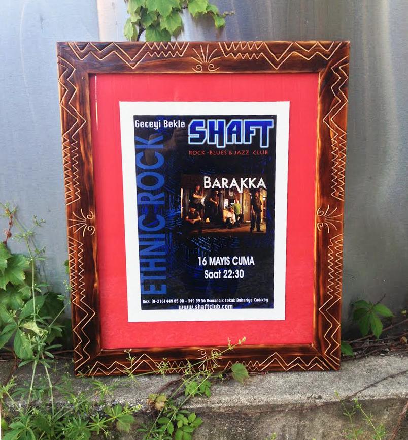 "'Shaft' frame 22/27"""