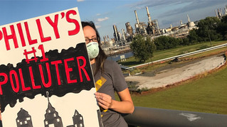 Media: #STOPETP DAY OF ACTION TARGETS THE PHILADELPHIA ENERGY SOLUTIONS REFINING COMPLEX