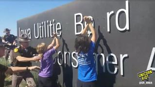 Peaceful Direct Action Against Dakota Access Construction Sites