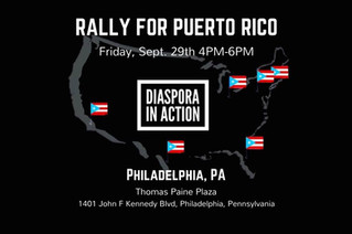 Rally Support: U.S. Policy is Harming Borikén [Puerto Rico] - Break the Silence!