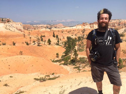 Filming in Bryce Canyon Utah