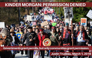 Kinder Morgan's TransMountain Pipeline Project: Permission Denied