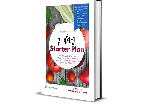 Low Carb Healthy Fat 7 Day Starter Plan