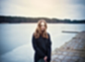 Woman on the Pier