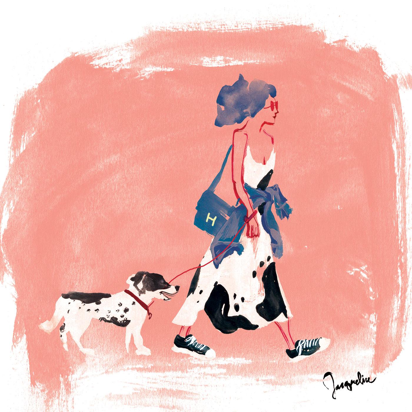 dalmatian-lady
