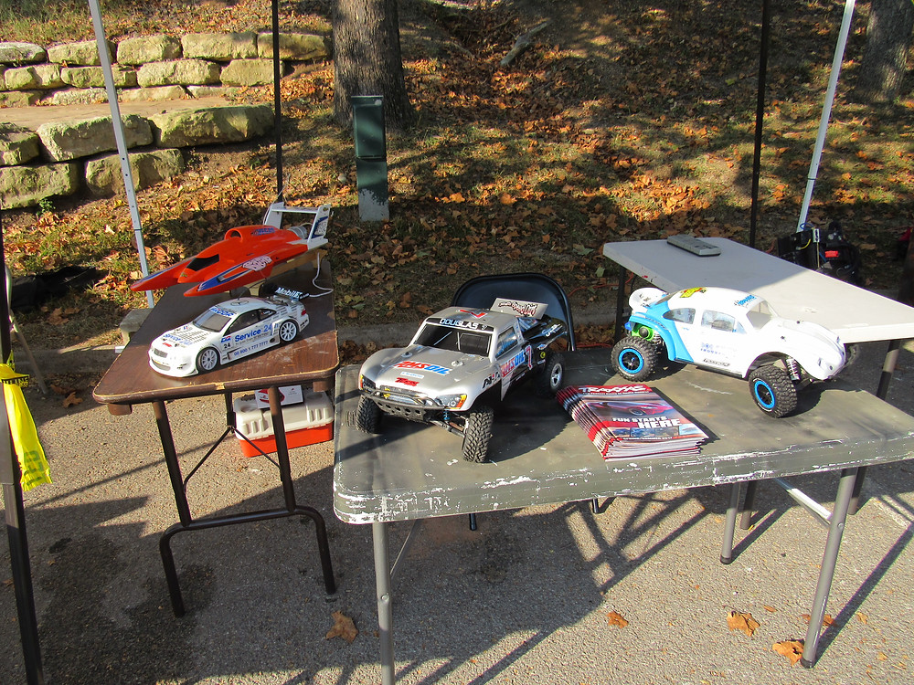 The local RC club shows off a variety