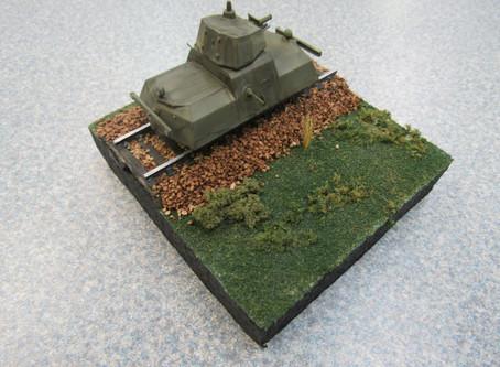 Russian Rail Tank