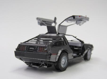Metal Earth DeLorean