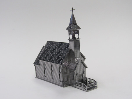 Metal Earth Country Church