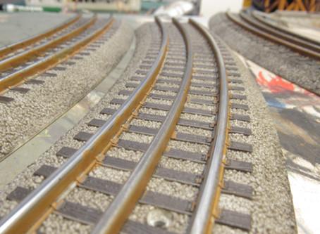 Weathering O Gauge Track