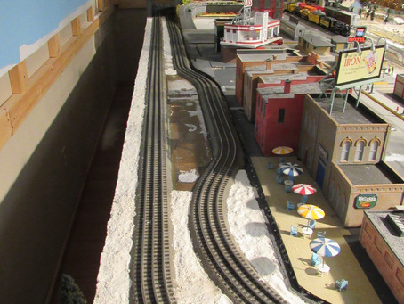 Train Layout Work