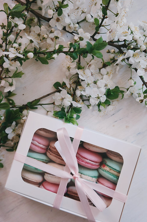 Box Of Assorted French Macaron