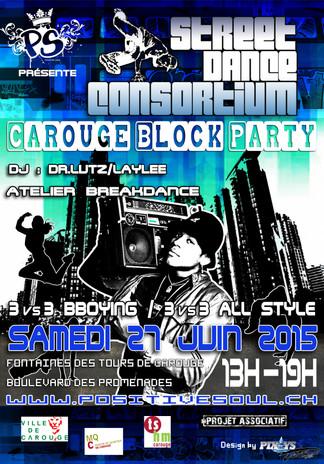 Street dance contorsium Carouge Block Pa