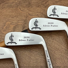 Hickory Shaft Engraved Blade Putter Golf Club  Annual Tournament Trophies